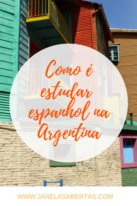 como é estudar espanhol em buenos aires