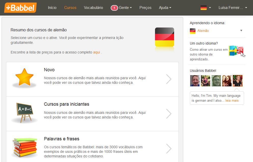 estudar idiomas online de graça
