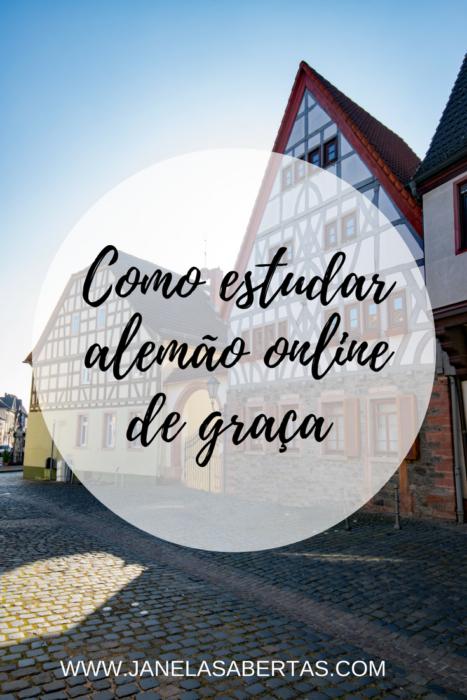 Como estudar alemão online de graça