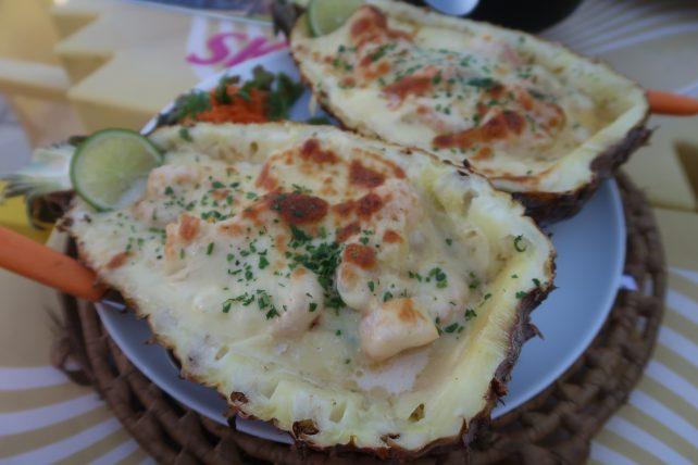 camarão havaiano no joão restaurante