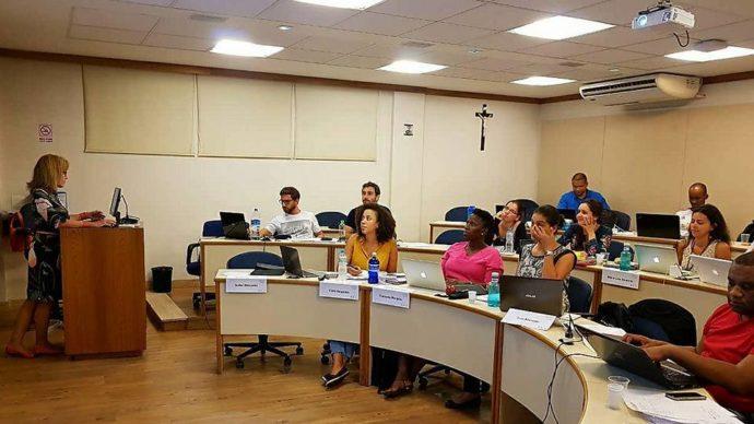 sala de aula do MBA Atlântico