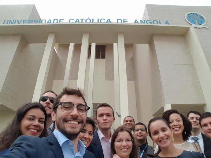 alunos do MBA Atlântico em Angola