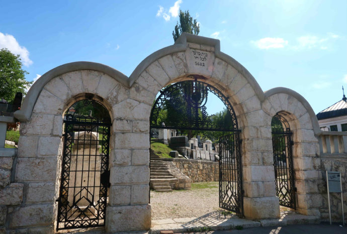 cemitério judeu em sarajevo