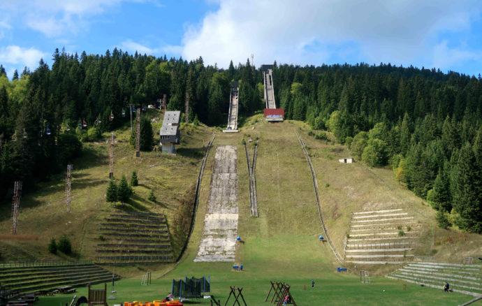 pista de ski em sarajevo