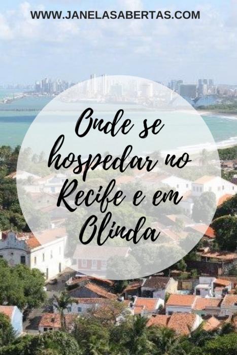 onde se hospedar no Recife e em Olinda