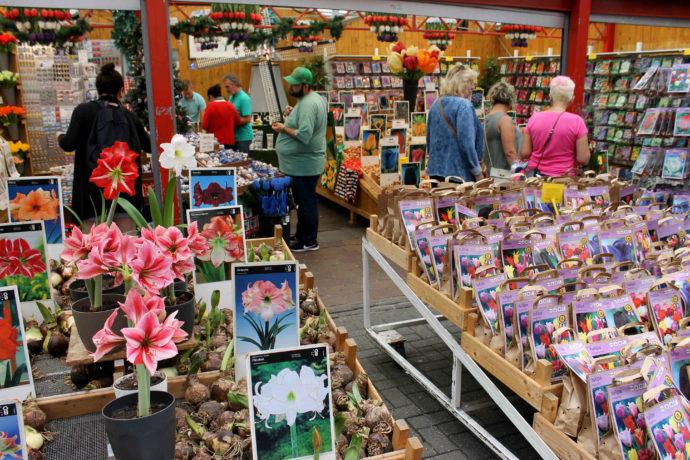 mercado das flores em amsterdam