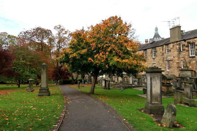 cemitério em edimburgo