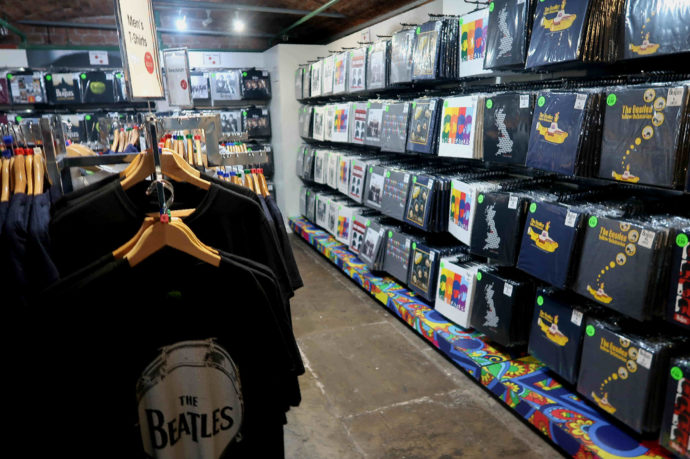 loja dos beatles
