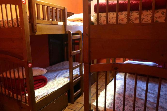 quarto do hostel motter home
