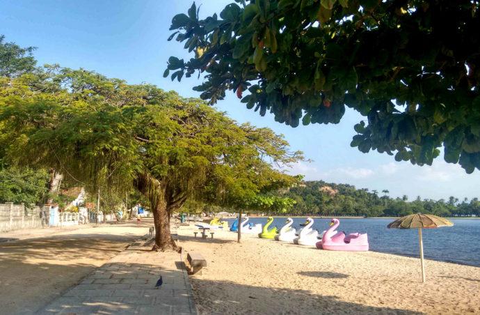 praia em paquetá