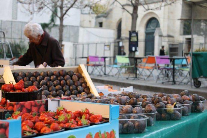 mercado no quartier latin