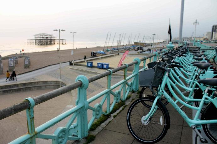 bicicletas em brighton