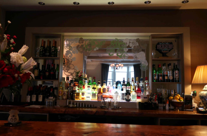 bar do hotel em brighton