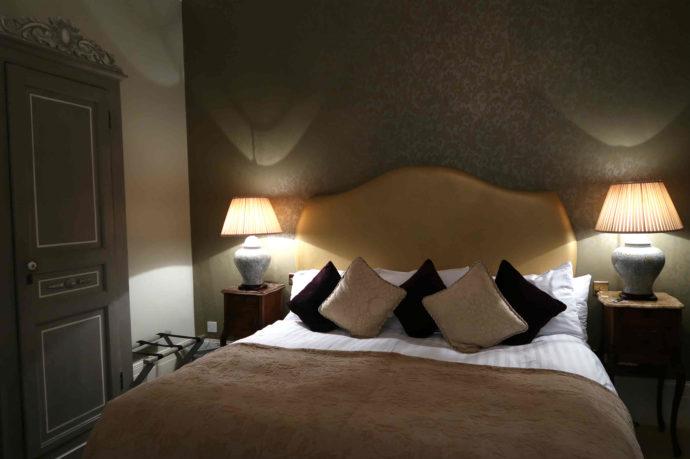quarto do hotel em brighton