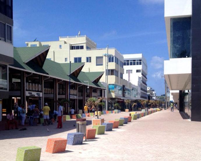 centro turístico da ilha