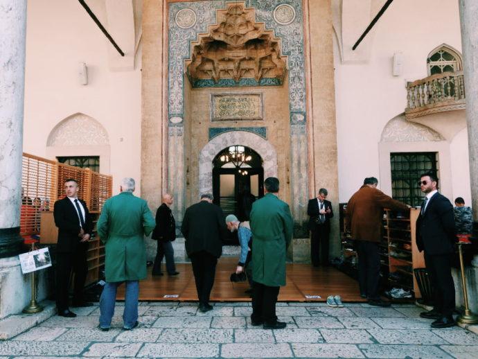 mesquita em sarajevo