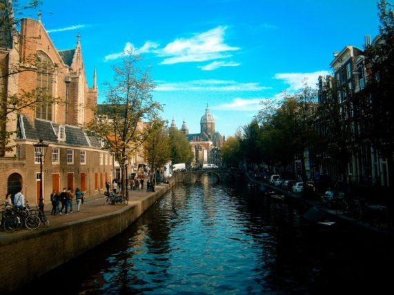 amsterdam na Holanda