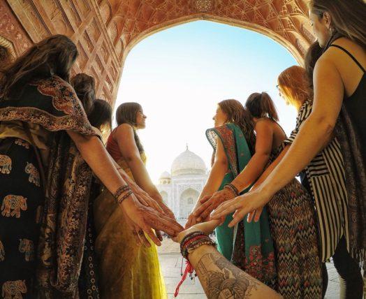 expedição na Índia