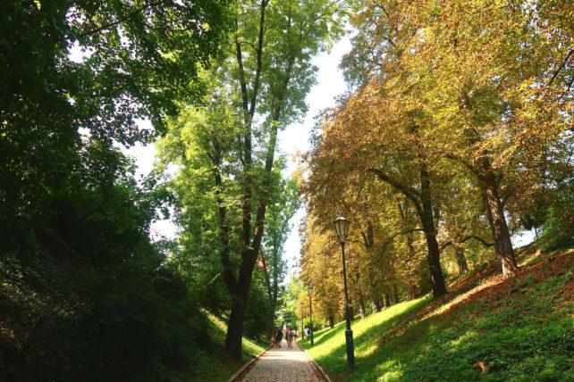 parque Vyšehrad