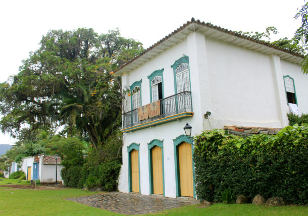 casa do príncipe em paraty