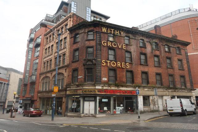 o que fazer em manchester - edifícios no centro