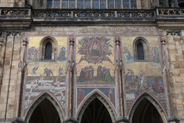 catedral no castelo de praga