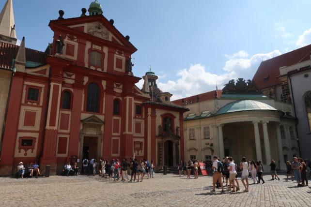 basílica no castelo de praga