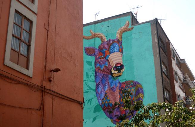 graffiti na cidade do méxico