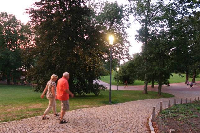 letná park em praga