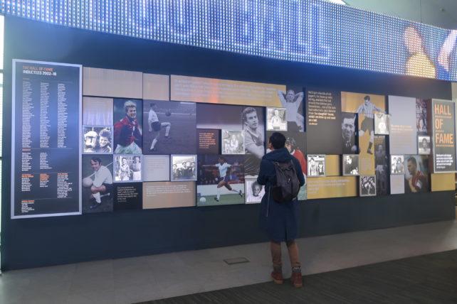 museu do futebol em manchester