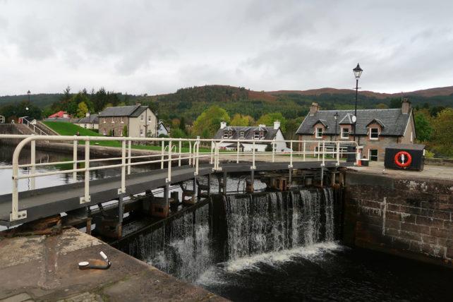 Fort Augustus na escócia