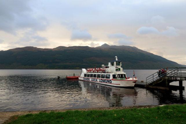 lago lomond na escócia