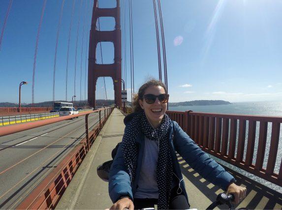 como atravessar a golden gate de bicicleta em são francisco