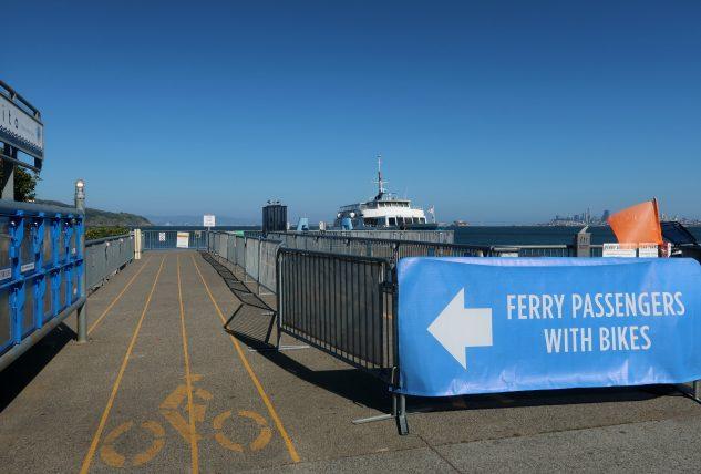 estação de ferry em sausalito