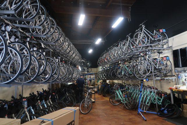 loja de aluguel de bicicletas em são francisco