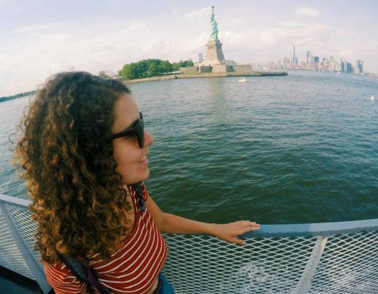 passeio de barco até a estátua da liberdade