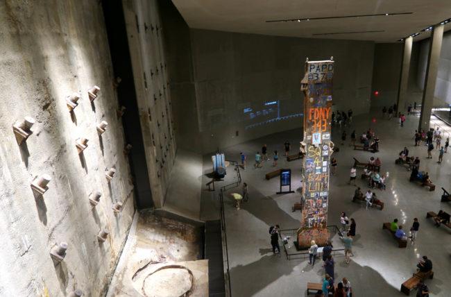 memorial do 11 de setembro em nova york