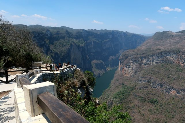 mirante do cânion do sumidero