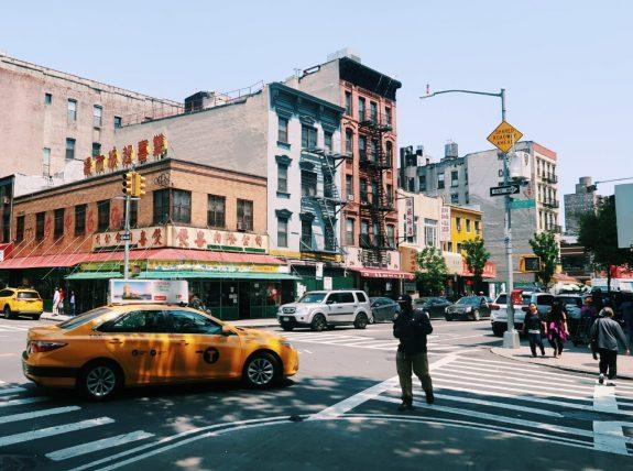 rua no lower east side de nova york