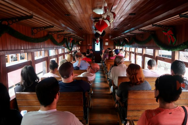 trem turístico da vale