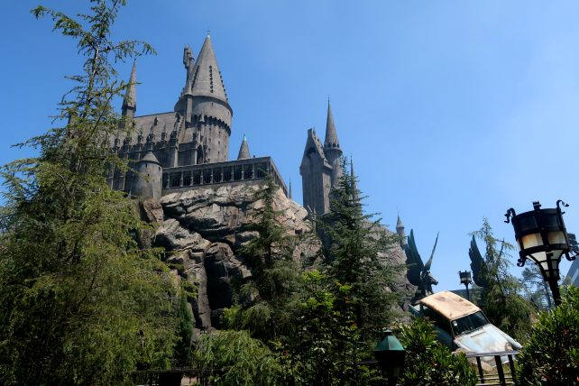 castelo de hogwarts no wizarding world of harry potter