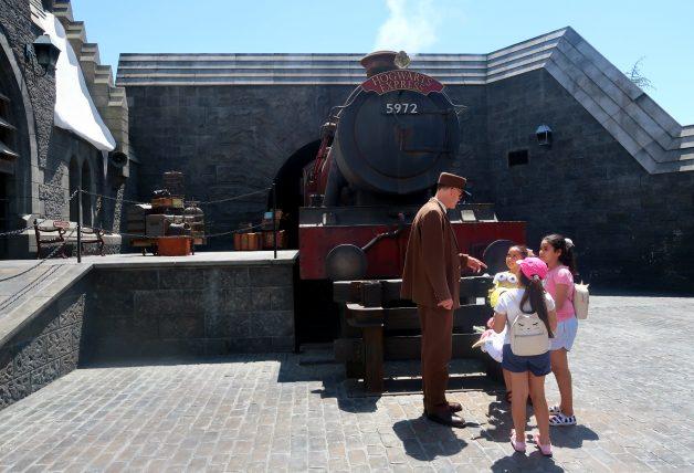 hogwarts express e maquinista