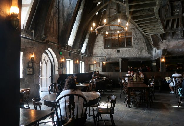 restaurante temático de harry potter