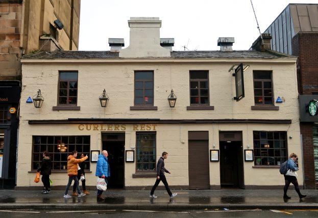 pub antigo em glasgow