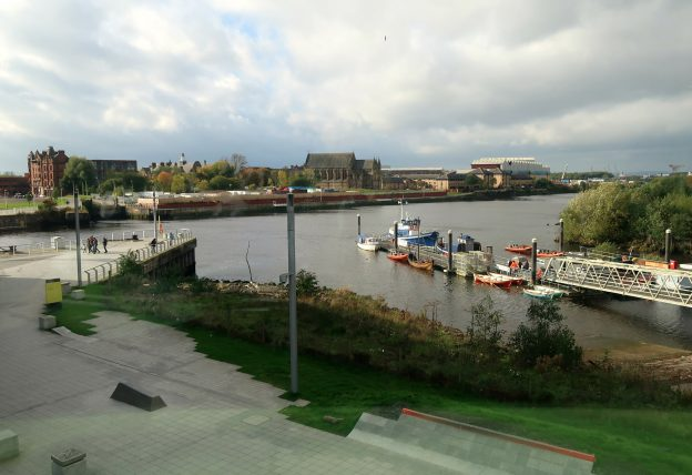 vista do riverside museum