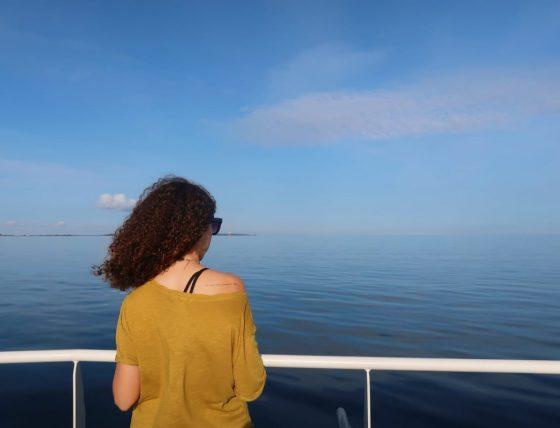 no caminho para a prangli island