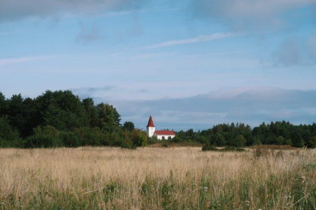 igreja em prangli