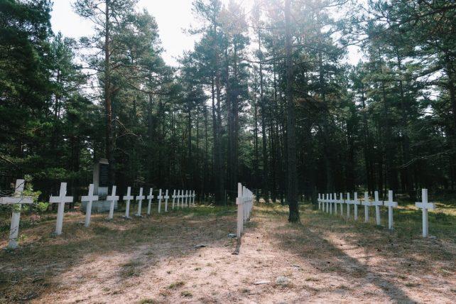 cemitério na ilha de prangli