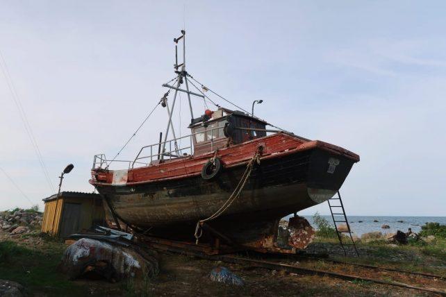 barco antigo
