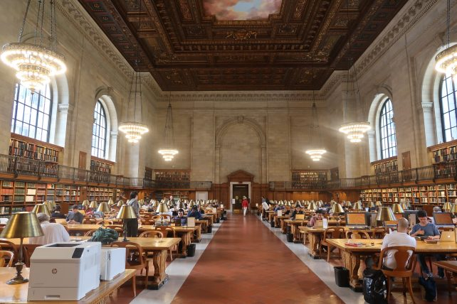 biblioteca pública de nyc